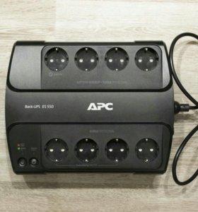 Источник бесперебойного питания APC Back-UPS ES 55