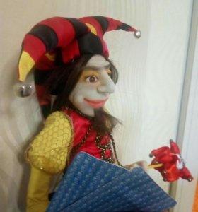 Интерьерная коллекционная кукла.