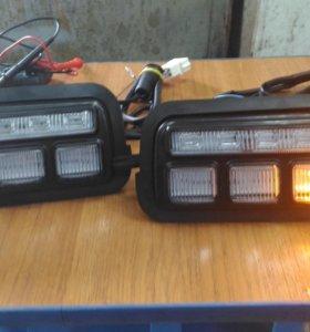 подфарники LED на Ваз 2121-21214-Урбан