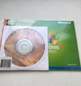 Лицензионный диск с Windows XP