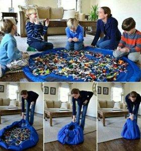 Сумка-коврик для детских игрушек