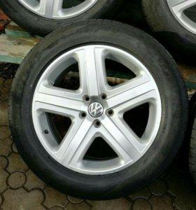 Комплект колес для фольцваген таурег