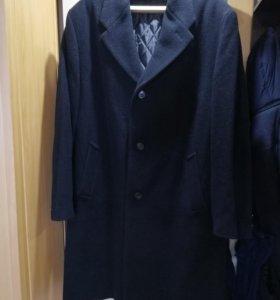 Пальто мужское. Кашемир.размер 54-56.