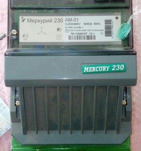 Счетчик Меркурий 3фазн.