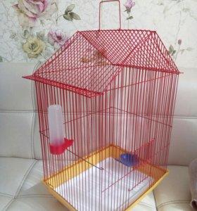 Клетка для птиц (новая)