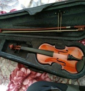 Скрипка 1/8,абсолютно новая