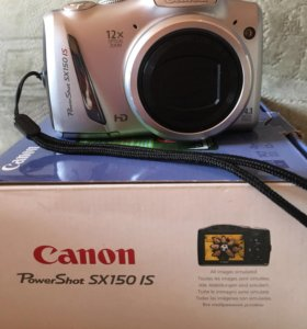 Фотоаппарат Canon PowerShot SX150IS