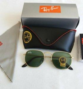 Модные солнце защитные очки Ray ban