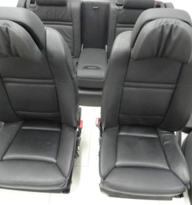 кожаный салон комфорт BMW E70 X5 M пакет рестаил