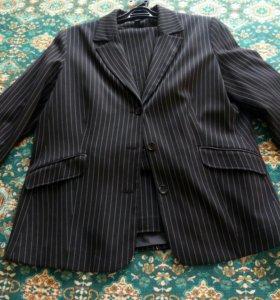 Брючный костюм, 58 размер