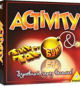 Настольная игра Активити+Тик Так Бумм