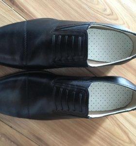Туфли мужские.натуральная Кожа