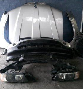 Морда в сборе BMW X5 E53 до рестаил