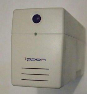 Бесперебойник-стабилизатор UPS ippon Pro 600