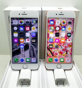 iPhone 7 Silver/Rose Gold 128 GB