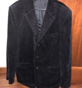 Пиджак мужской вельветовый р-р 54.