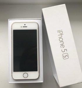 Айфон 5s 32gb золотистый