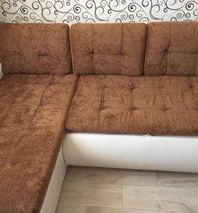 Угловой диван-кровать 243*200*90