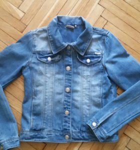 Джинсовая курточка р.146
