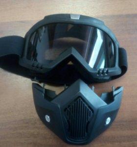 Раздельные маски для квадроциклов или снегохода