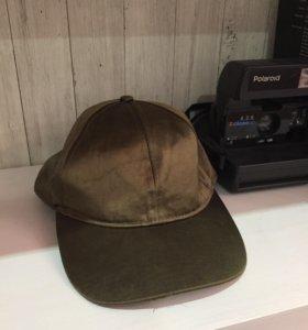 Бархатная кепка