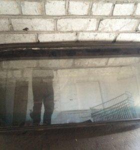 Переднее и задние волгавские стекла