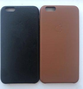 Кожаный чехол Apple leather case 6 Plus / 6s Plus