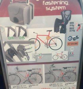 Кресло велосипедное детское