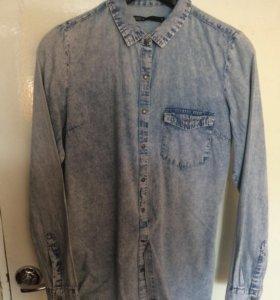 Рубашка джинсовая house