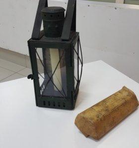 Свечной фонарь.