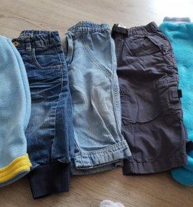Брюки для мальчика джинсы