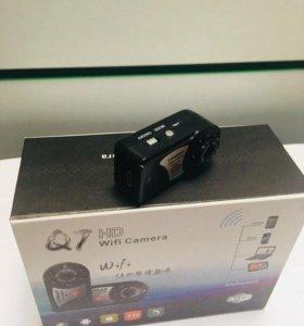 Видеокамера на карман скрытная Q7 новая магазин