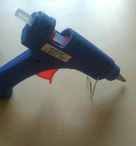 Клеевой пистолет + стержни