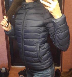 Куртка Pull and Bear + шапка Bershka