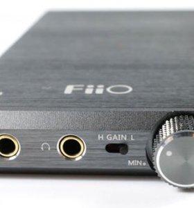 Портативный hi-fi усилитель FiiO E12A
