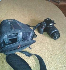 Зеркальный фотик Nikon d5100 kit