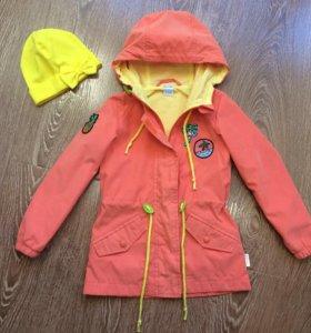 Куртка-парка для девочки фирмы Бум (Орби)