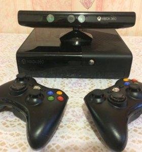 Xbox360,500ГБ+Kinect+игры