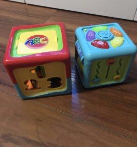 Детские развивающие игрушки-сортеты
