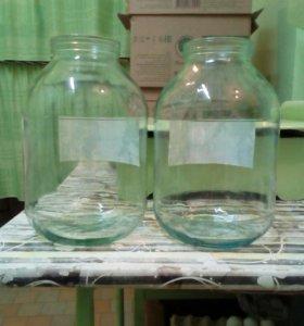 Банки стекло 3-х литровые