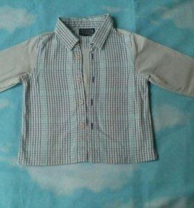 Рубашка на мальчика 1,5 лет.