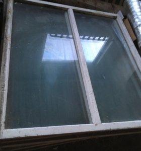 Окна деревянные и стекла
