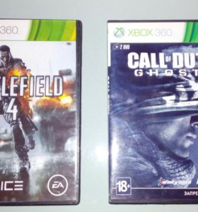 Battlefield 4 | Call of Duty ghosts