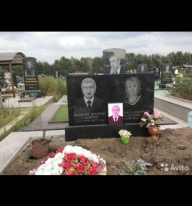 Портреты на кладбище