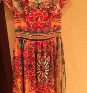 Платье dolce gabbana размер M