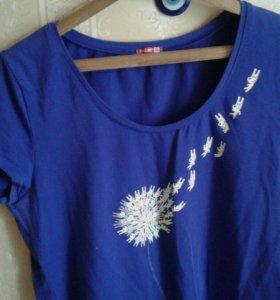 Классная футболочка, Пеликан, 54, 56 размер.