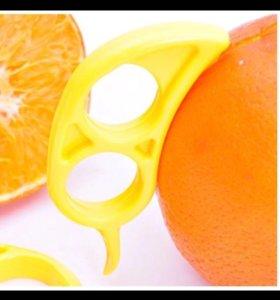 Удобный нож для чистки фруктов