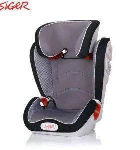 Новое авто кресло Сигер «Олимп»