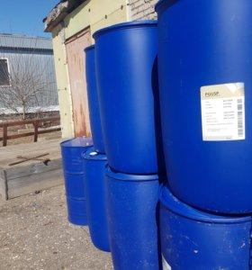 Бочки пластиковые Б/У 220-240 литров.