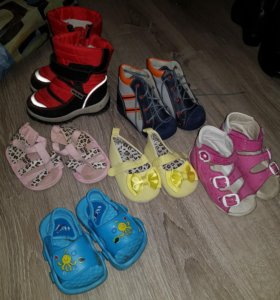 Обувь разная